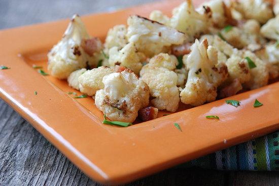Roasted Cauliflower with Pancetta & Garlic | Fresh Tart (Paleo, AIP)