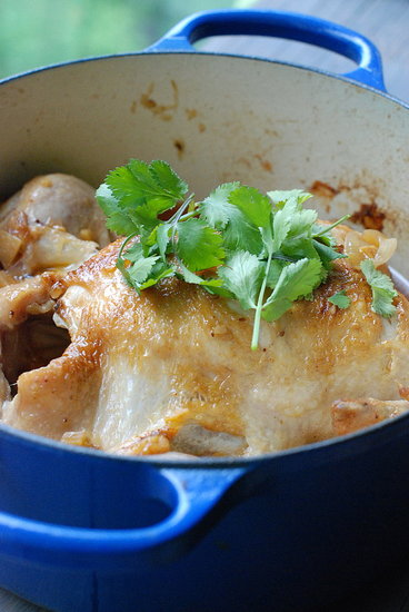 braised moroccan chicken