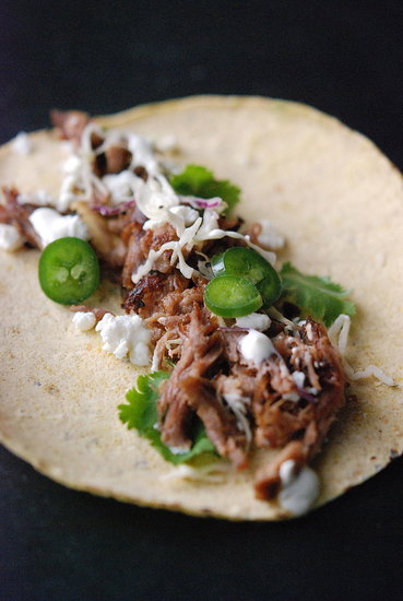 braised pork shoulder with chiles & cinnamon