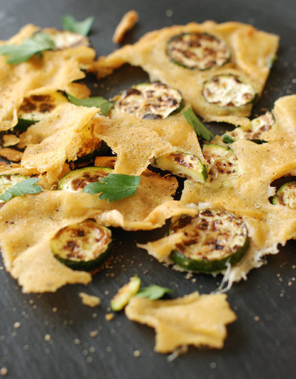 Frico (Parmesan Crisp) with Zucchini Fresh Tart Stephanie Meyer
