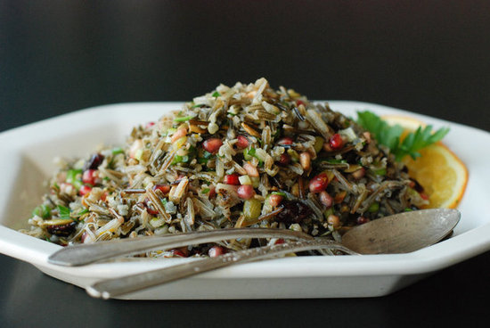 crunchy wild rice salad with citrus dressing stephanie meyer fresh tart