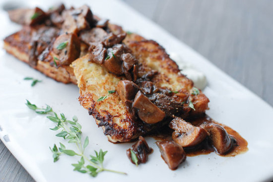 Savory French Toast with Mushrooms