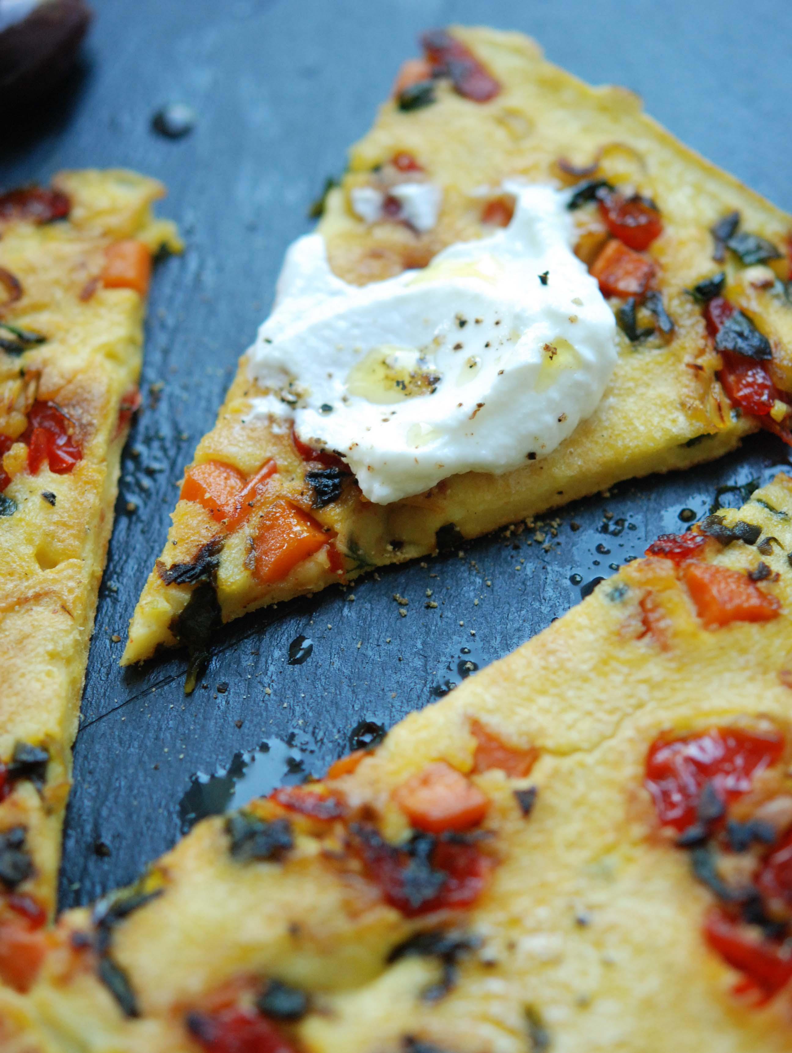 Chickpea Flour Frittata | Fresh Tart by Stephanie Meyer | Cook ...