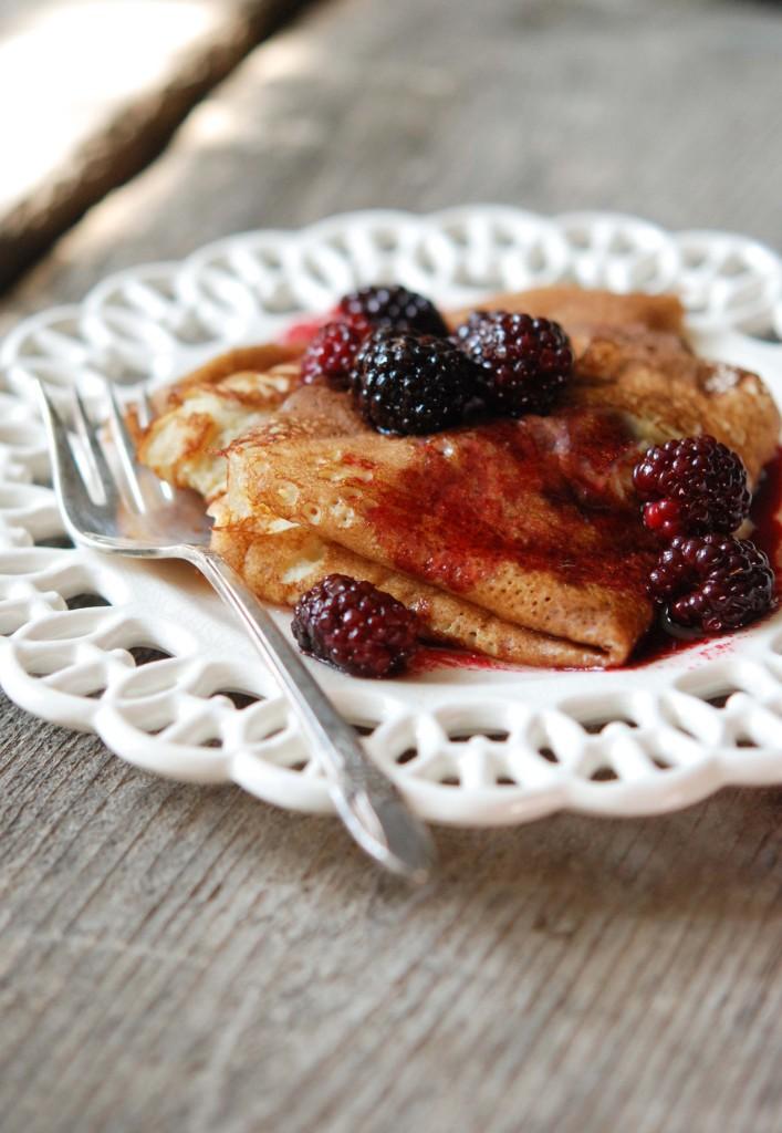 Brown Butter Berry Crepes | Fresh Tart (gluten-free, grain-free)
