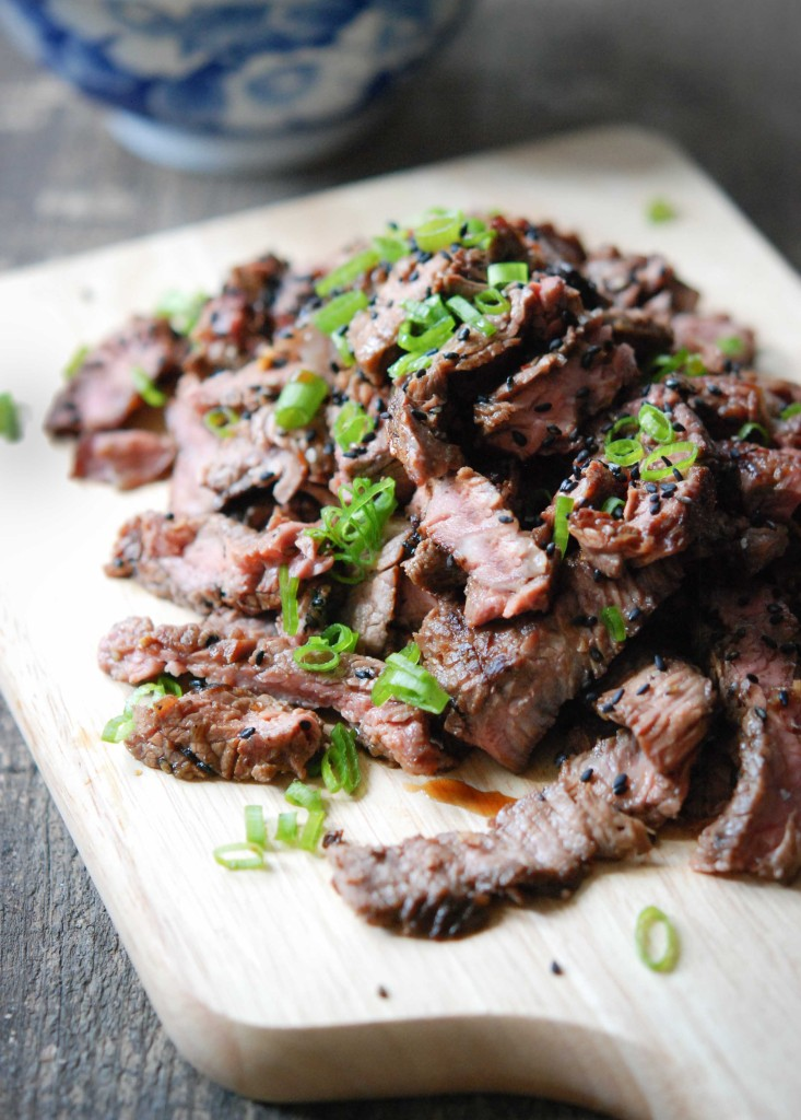 Korean Bulgogi (Grilled Steak)
