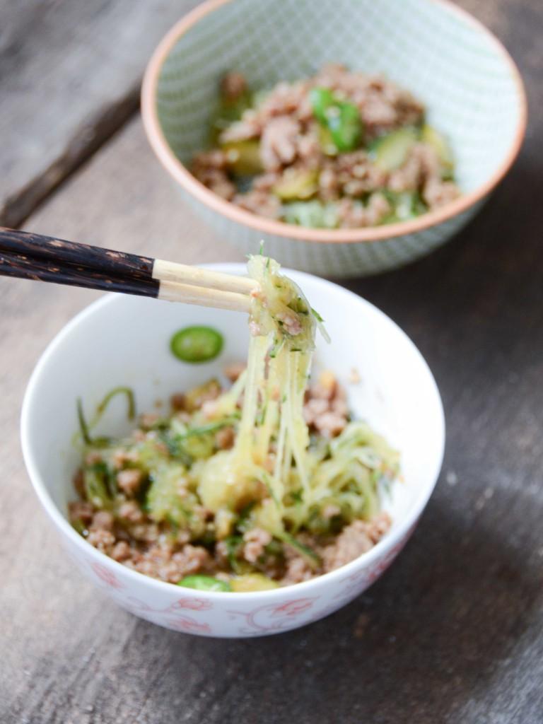 "Dan-Dan ""Noodles"" (Grain-Free, Gluten-Free) | Fresh Tart"