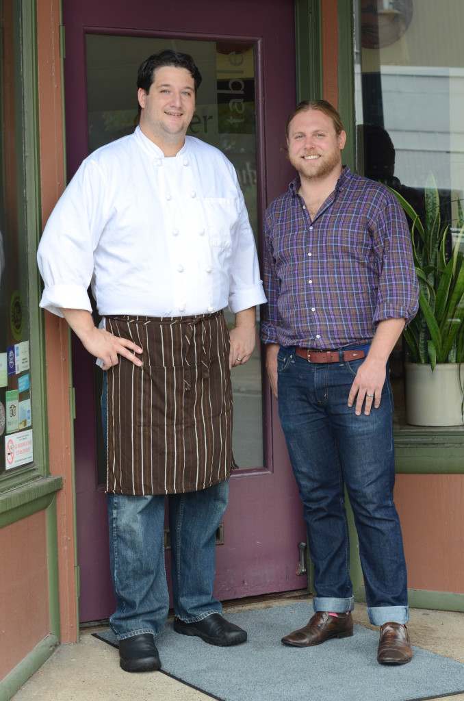 Chef Thomas Boemer & Nick Rancone of Corner Table