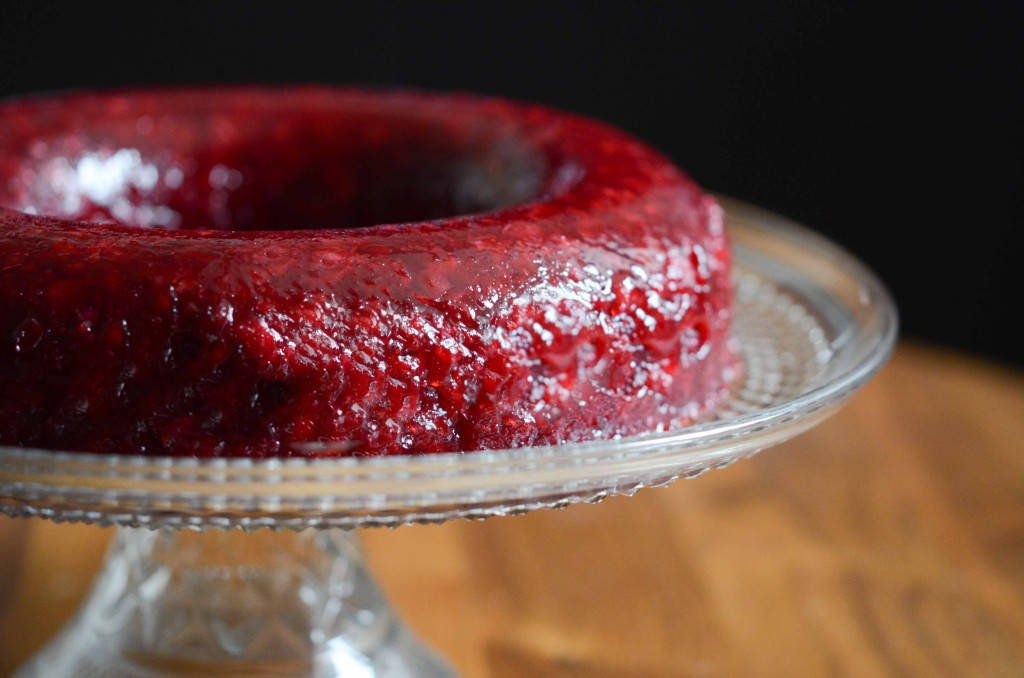 Spiced Fresh Cranberry Mold | Fresh Tart