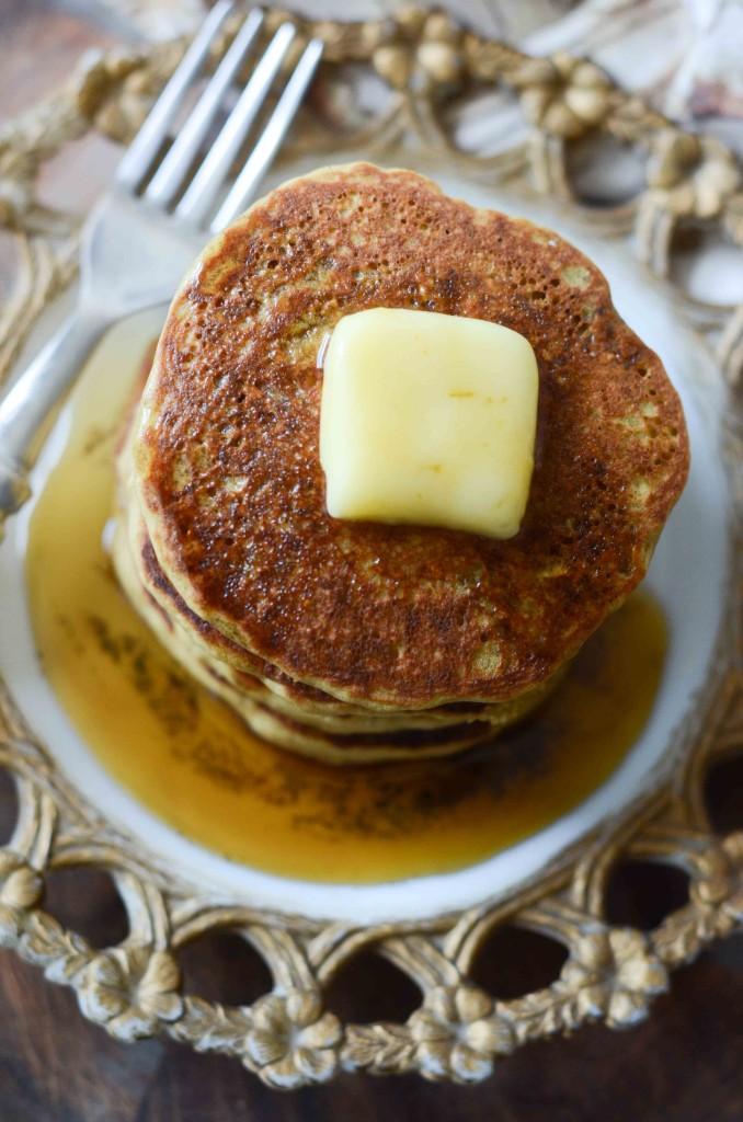Teff & Oat Flour Yogurt Pancakes | Fresh Tart (gluten-free)