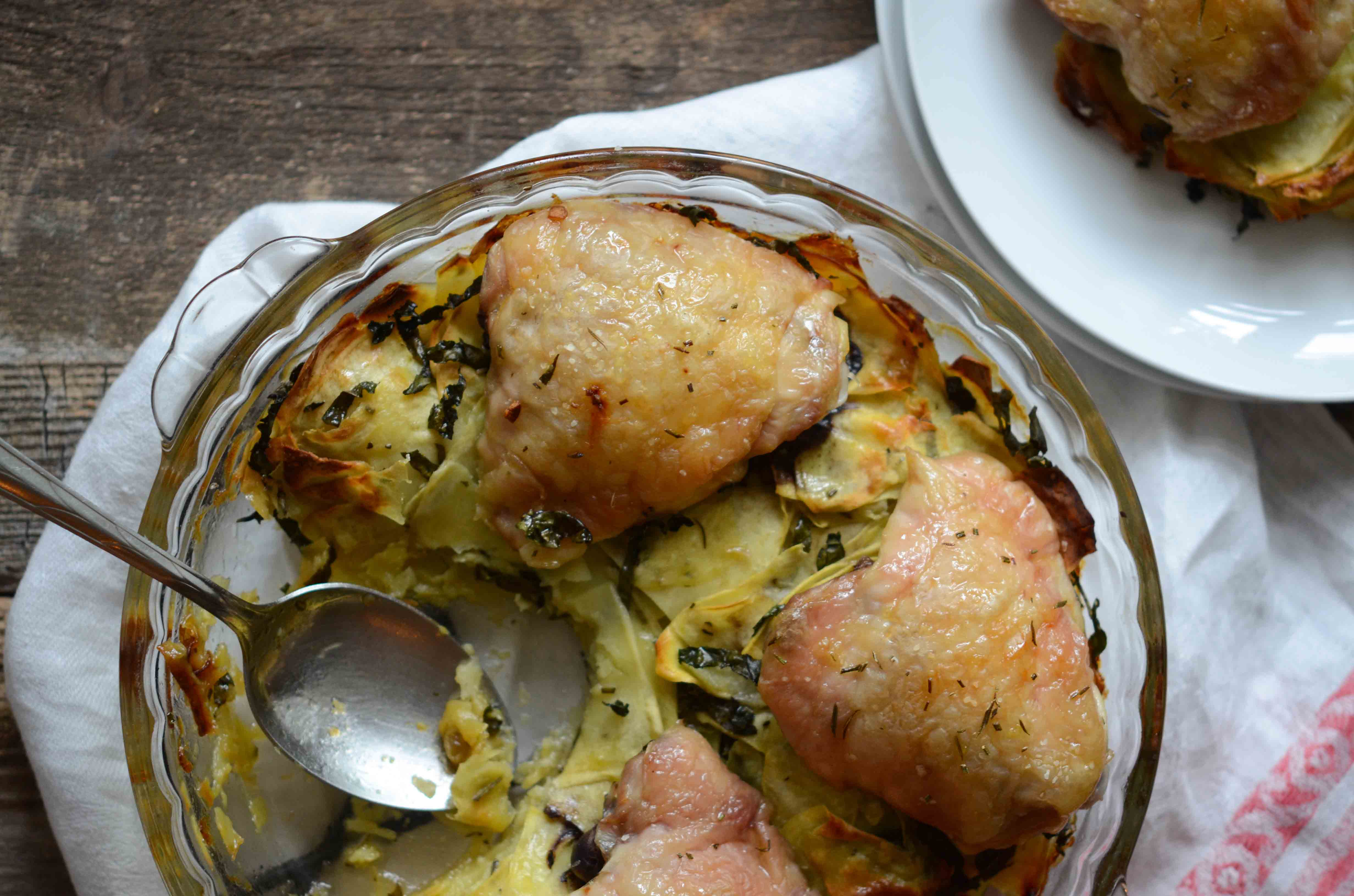 potatoes greek style roasted chicken with potatoes while your saved ...
