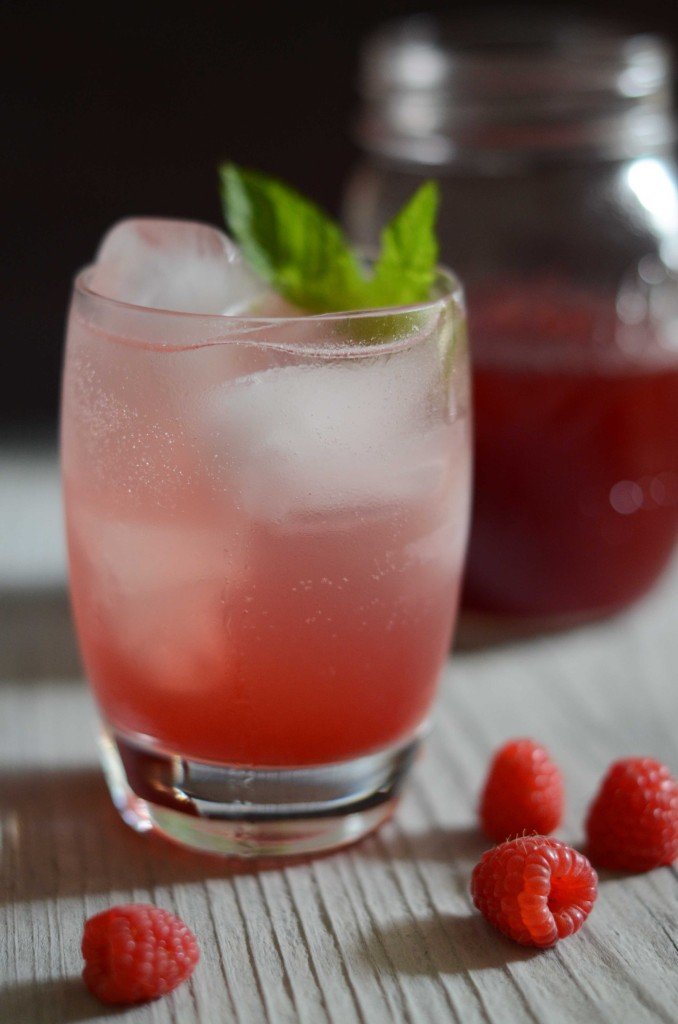 Raspberry-Mint Simple Syrup | Fresh Tart (AIP, Paleo)