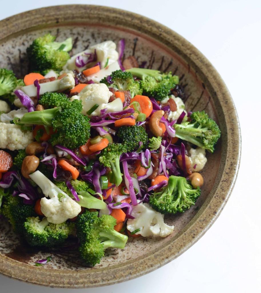Sweet & Sour Broccoli Salad | Fresh Tart (Paleo, AIP-friendly)