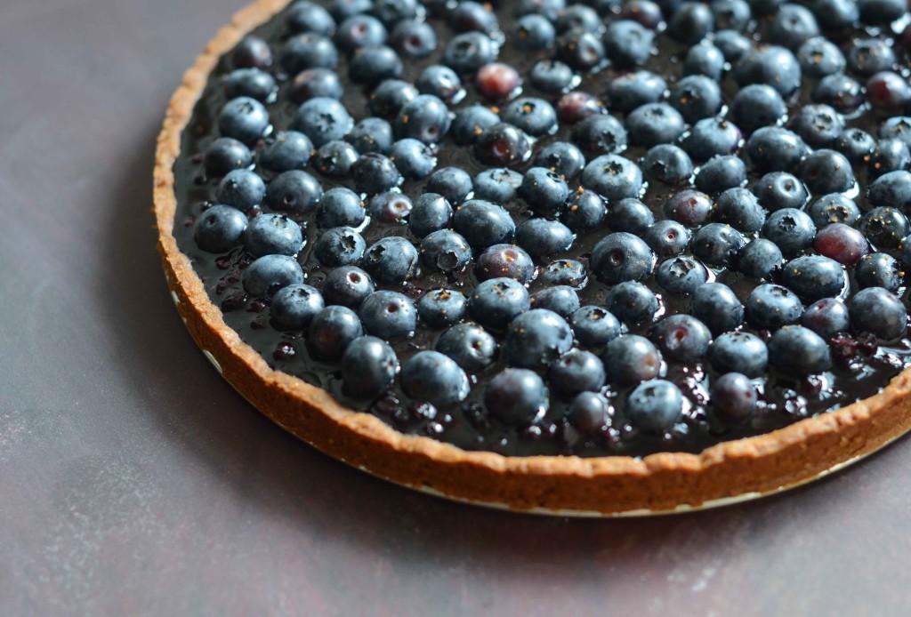 Blueberry Kuchen | Fresh Tart (Paleo, AIP)