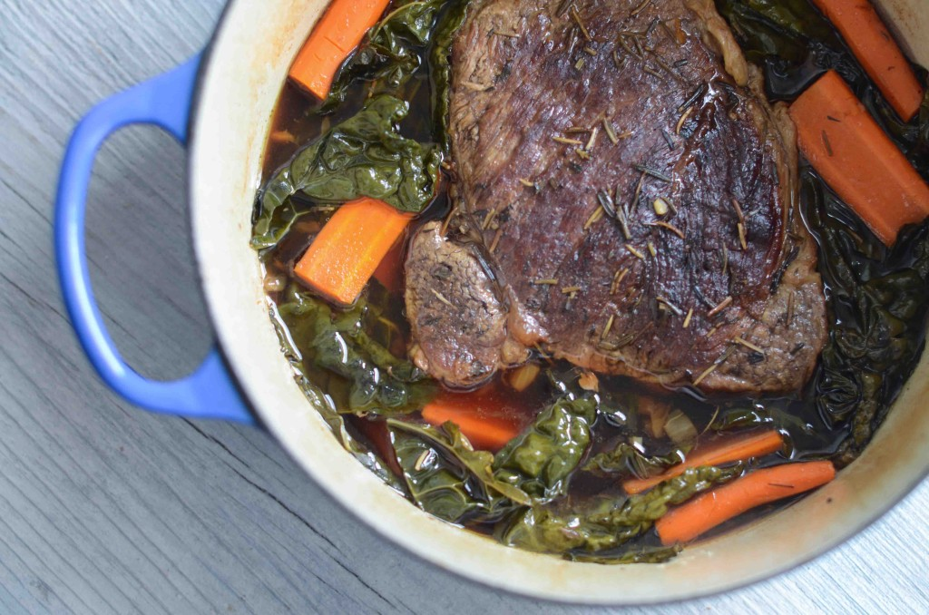 Pot Roast with Kale & Horseradish | Fresh Tart (Paleo, AIP)