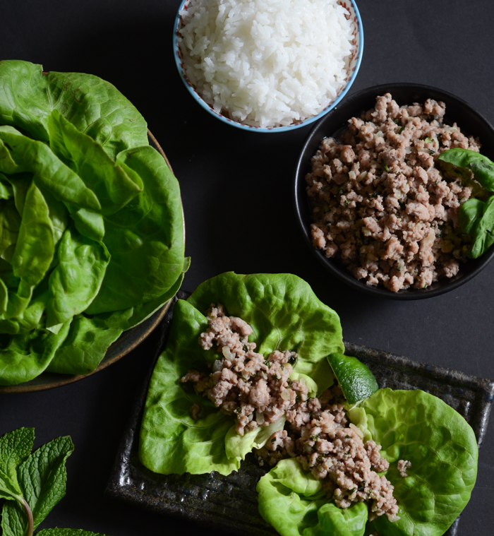 Coconut Pork Lettuce Wraps | Fresh Tart (Paleo, AIP)
