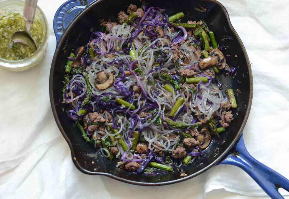Ginger Scallion Beef Stir-Fry | Fresh Tart (Paleo, AIP)