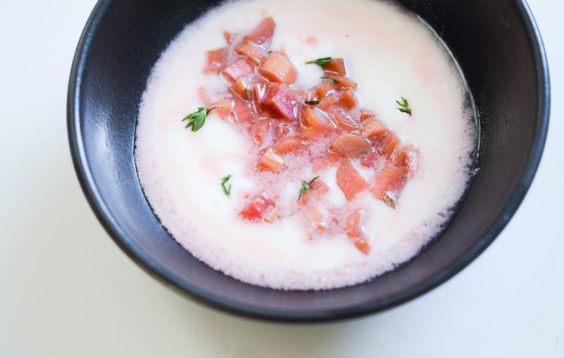 Rhubarb Compote | Fresh Tart (Paleo, AIP)