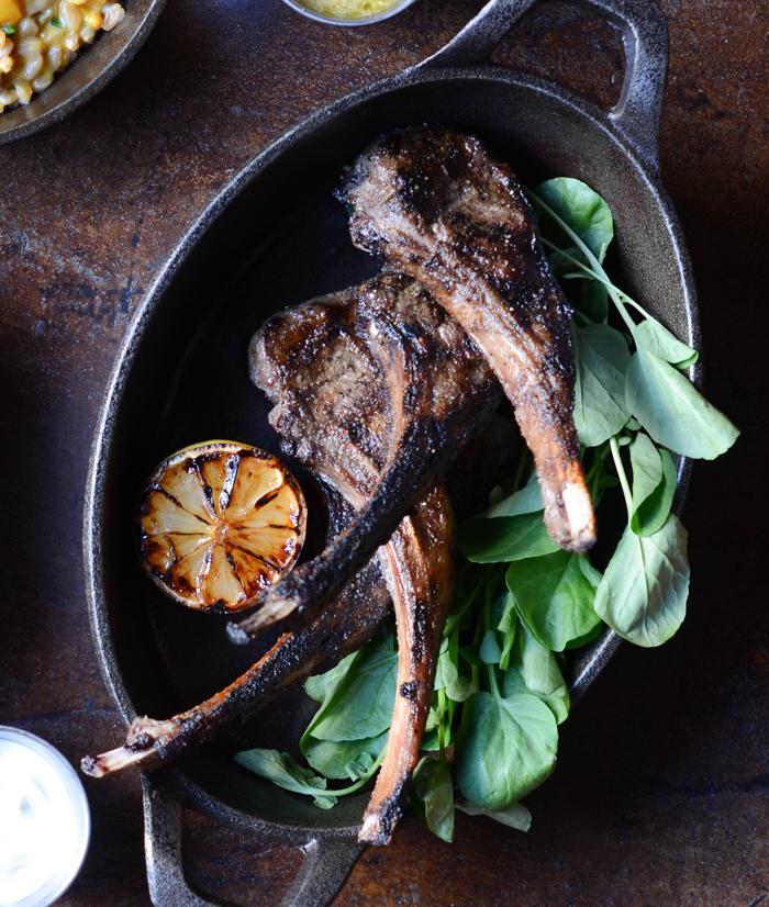 Saffron's Grilled Lamb Chops with Greek Spice & Herbs | Fresh Tart