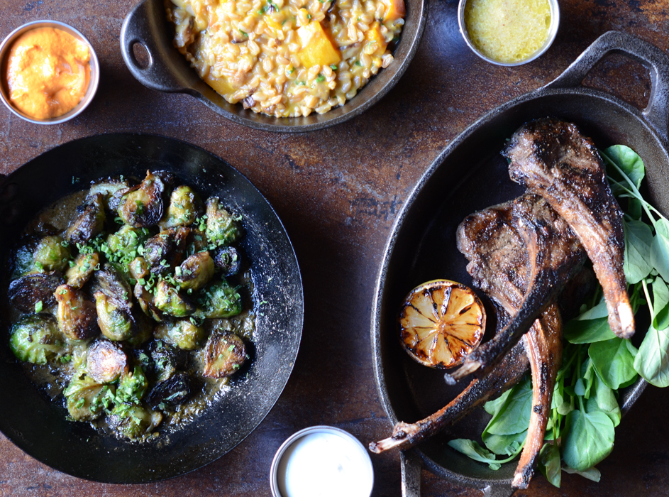 Saffron's Lamb Chops | Fresh Tart