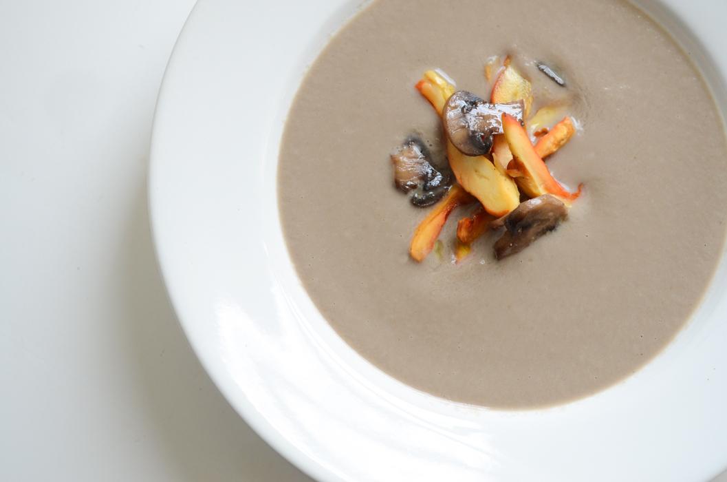 Mushroom Soup | Fresh Tart (Paleo)