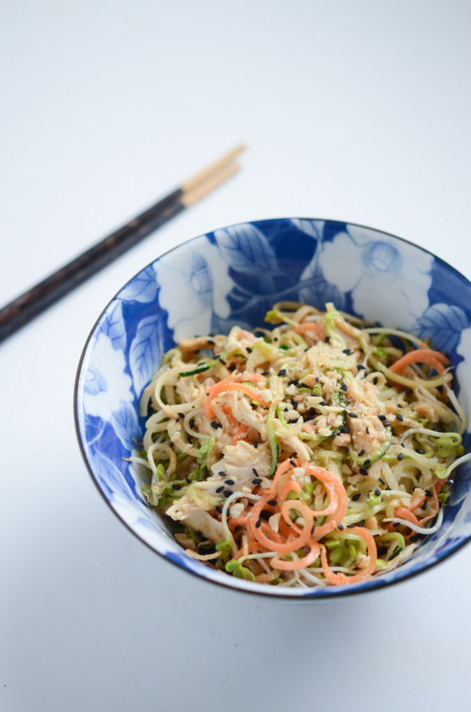 "Cold Peanut-Sesame ""Noodles"" | Fresh Tart (grain-free)"