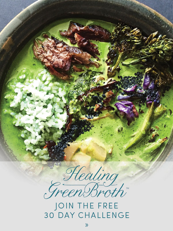 Healing Green Broth 30-Day Challenge